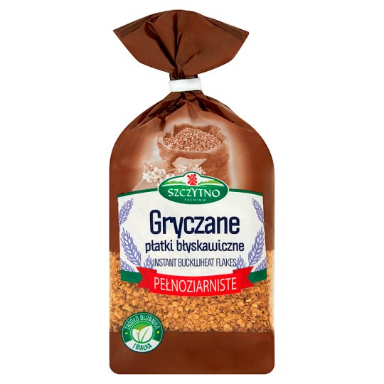 Szczytno Premium Buckwheat Instant Flakes 400 g