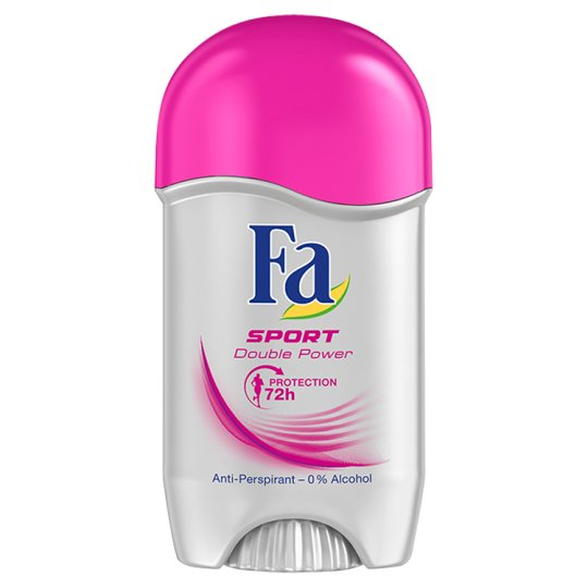 Fa Sport Double Power Antyperspirant w sztyfcie 50 ml