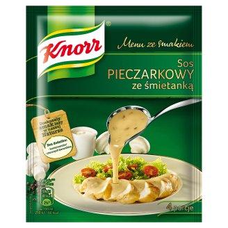 Knorr Menu ze smakiem Sos pieczarkowy ze śmietanką 38 g