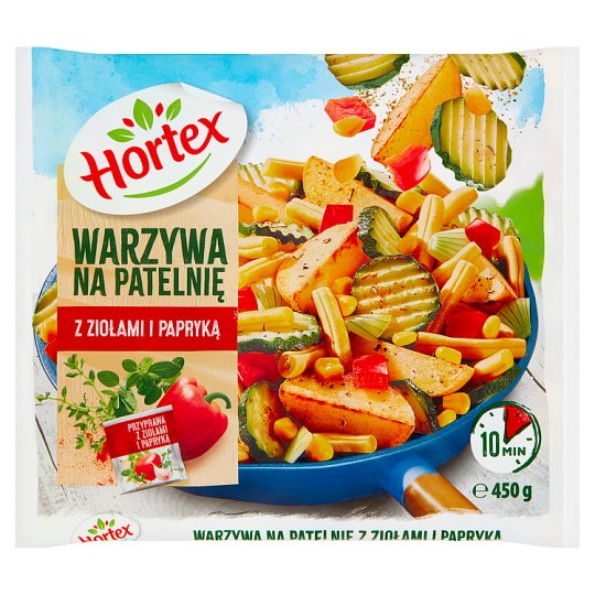 Hortex Stir-fry Vegetables with Herbs and Paprika 450 g