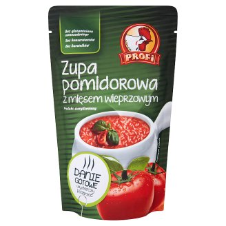 Profi Tomato Soup with Pork Meat 450 g