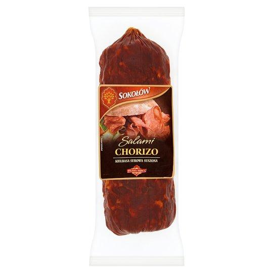 Sokołów Salami Chorizo Kiełbasa surowa suszona 250 g