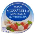 Tesco Mini Balls Mozzarella in Brine 125 g