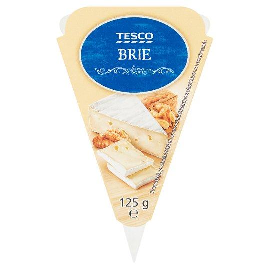 Tesco Brie Cheese 125 g