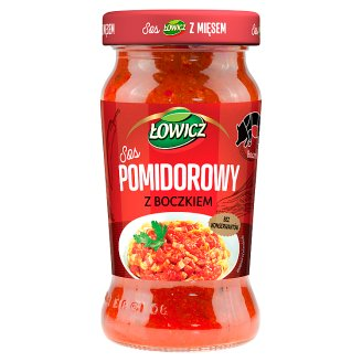 Łowicz Sauce Tomato with Bacon 350 g