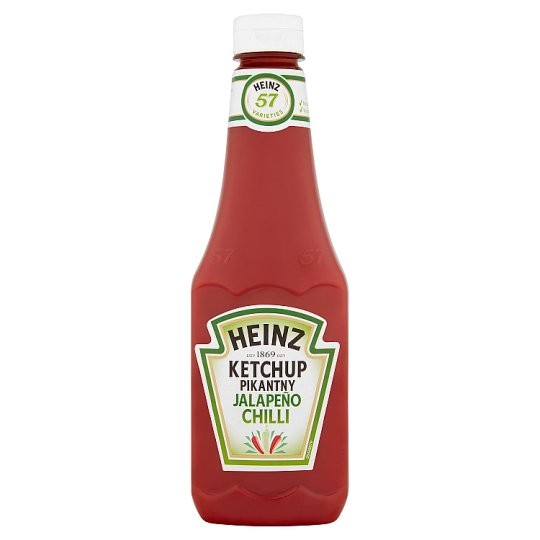 Heinz Jalapeño Chilli Ketchup 570 g
