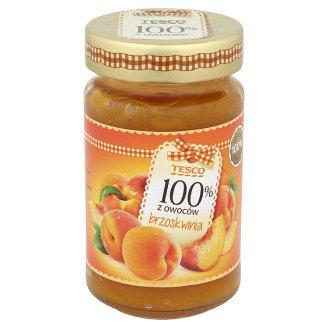 Tesco 100% z owoców Produkt owocowy z brzoskwiń 230 g