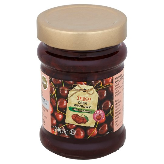 Tesco Dżem wiśniowy niskosłodzony 290 g