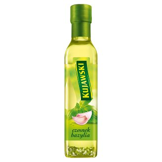 Kujawski Extra Virgin Rapeseed Oil with Garlic and Basil 250 ml