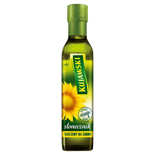Kujawski Sunflower Cold Pressed Oil 250 ml