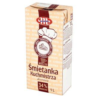 Mlekovita Horeca Line 34% Dessert Kuchmistrza Cream 1 L