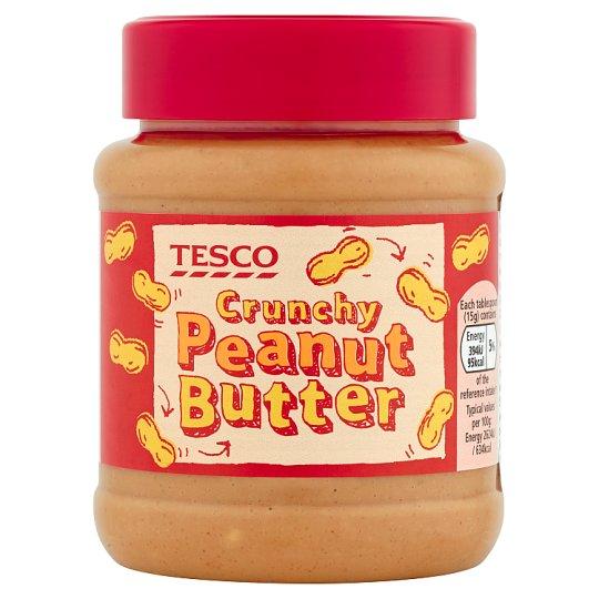 Tesco Crunchy Peanut Butter 340 g