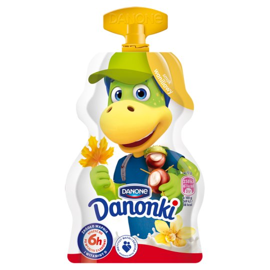 Danone Danonki Vanilla Flavoured Yoghurt 70 g