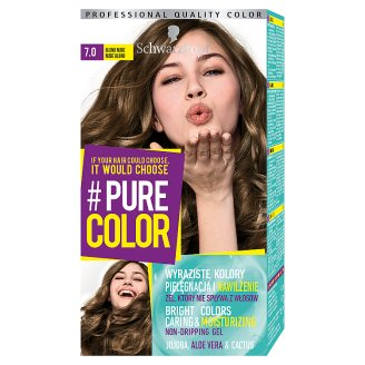 Schwarzkopf #Pure Color Farba do włosów 7.0 Blond Nude