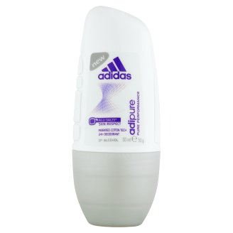 Adidas Adipure Deodorant Roll-On for Woman 50 ml