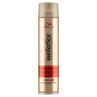 Wella Wellaflex Heat Creations Ultra Strong Hold Hairspray 250 ml