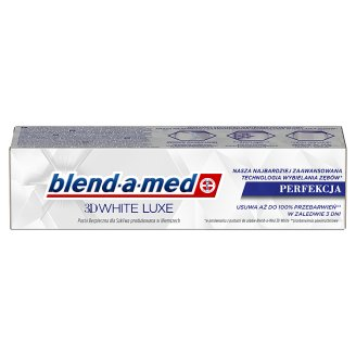 Blend-a-med 3DWhite Luxe Toothpaste 75ml, Perfection