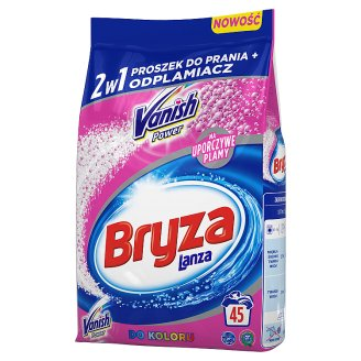 Bryza Vanish Ultra 2in1 for Colour Washing Powder and Stain Remover 3.375 kg (45 Washes)