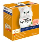 Gourmet Gold Mousse Complete Food for Adult Cats 8 x 85 g
