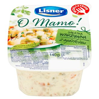 Lisner O Mamo! Vegetable Salad with Cucumber 140 g