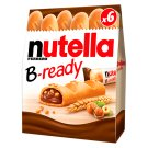 Nutella B-ready Wafer with Nuts Cocoa and Crisps 132 g (6 Pieces)