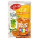 Delecta Owocowy kubek Kids Kisiel marchew-pomarańcza 31 g