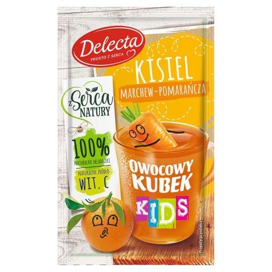 Delecta Owocowy kubek Kids Carrot-Orange Flavoured Soft Jelly 31 g