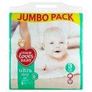Tesco Loves Baby Ultra Dry Pieluszki jednorazowe dla dzieci 3 midi 4-9 kg 96 sztuk