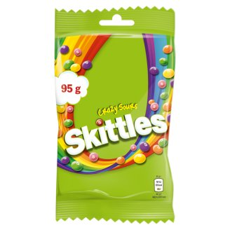 Skittles Crazy Sours Chewing Candies 95 g