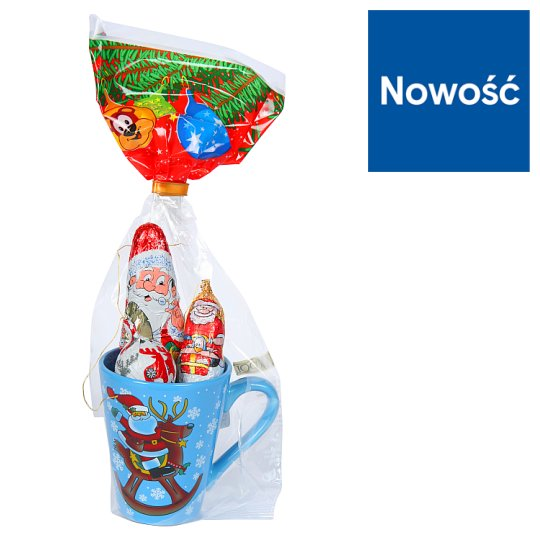 Rakpol Christmas Cup + Chocolates 65 g Set