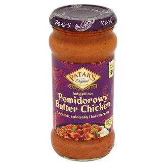 Patak's Tomato Indian Sauce Butter Chicken with Butter Cream and Cardamom 350 g