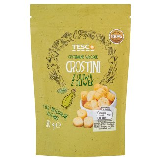 Tesco Original Italian Crostini with Olive Oil 80 g