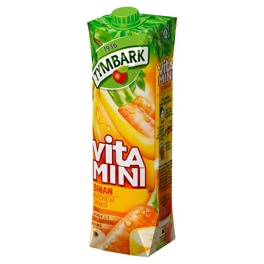 Tymbark Vitamini Banana Carrot Apple Juice 1 L