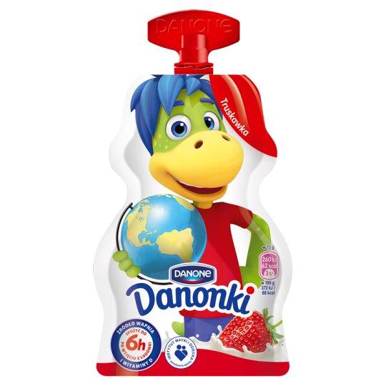 Danone Danonki Strawberry Yoghurt 70 g