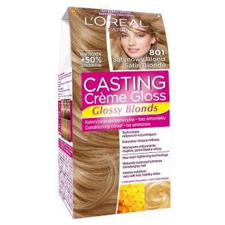 L'Oreal Paris Casting Creme Gloss Farba do włosów 801 Satynowy blond