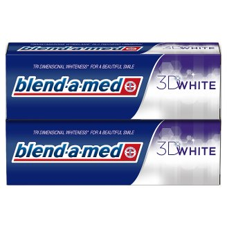 Blend-A-Med 3D White Pasta do zębów 2 x 75 ml