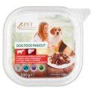 Tesco Pet Specialist Karma dla dorosłych psów ragout z wołowiną wątróbką i makaronem 300 g
