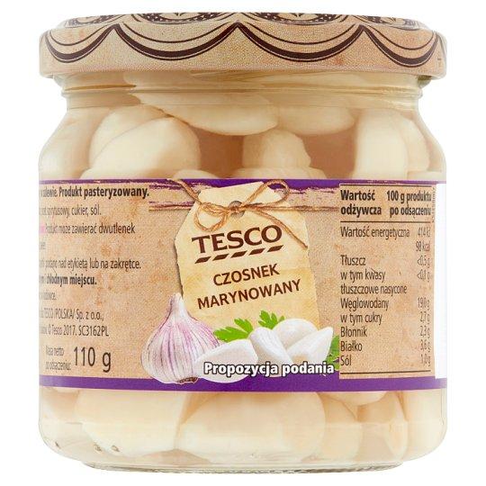 Tesco Marinated Garlic 195 g
