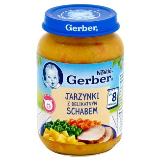 Gerber Vegetables with Light Joint of Pork after 8 Months Onwards 190 g
