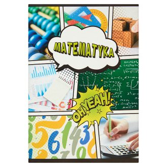 Mathematics A5 Squared 60 Pages Notebook