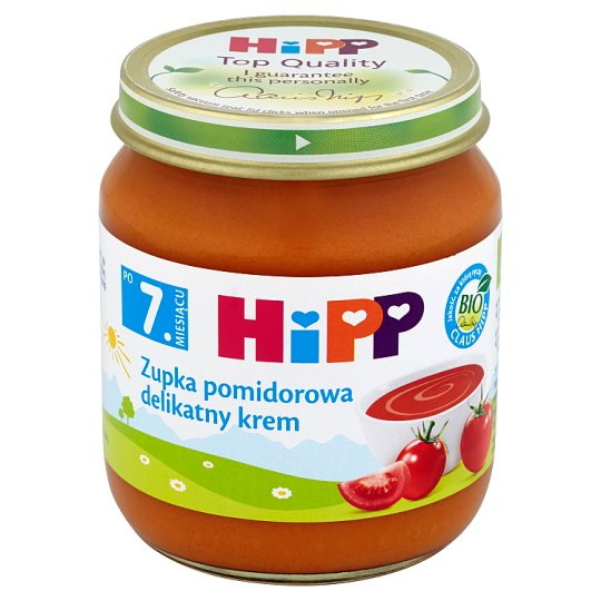 HiPP BIO Tomato Soup Cream after 7. Months Onwards 200 g