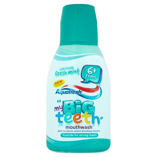 Aquafresh my Big Teeth Fresh Mint Mouthwash for Children 300 ml