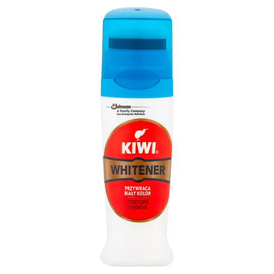 Kiwi Whitener White Paste in Liquid for Sport Shoes 75 ml