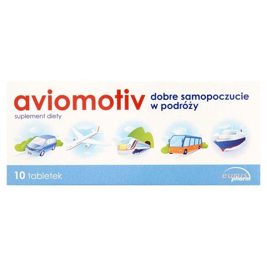 Aviomotiv Suplement diety 3,1 g (10 tabletek)