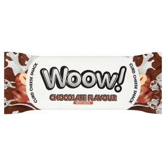 Woow! Chocolate Flavour with Nuts Curd Cheese Snack 35 g