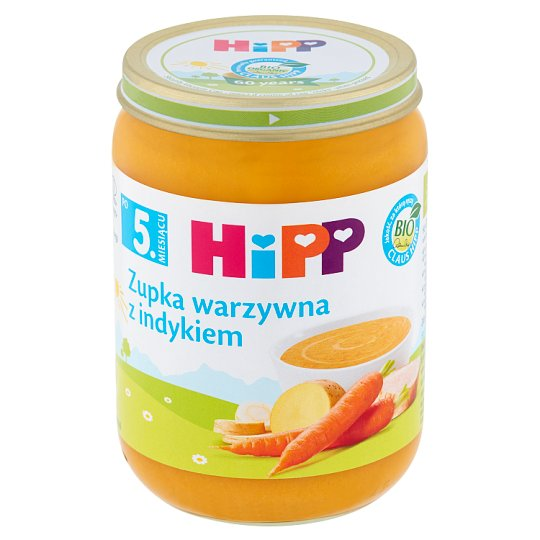 HiPP BIO Vegetables Soup with Turkey after 5. Months Onwards 190 g