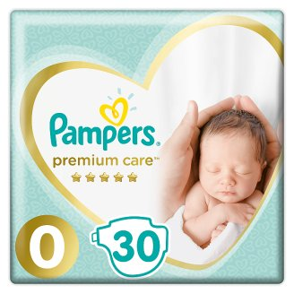 Pampers Premium Care Size 0 (Micro) <2.5kg, 30 nappies