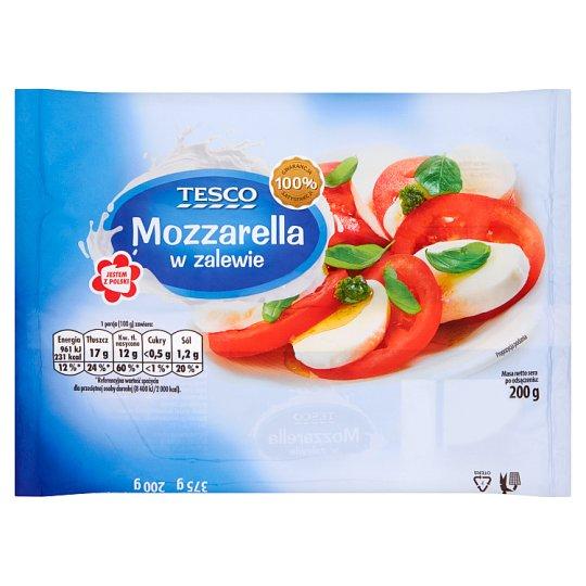 Tesco Mozzarella w zalewie 200 g