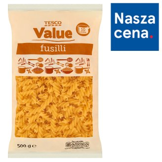 Tesco Value Makaron świderki 500 g