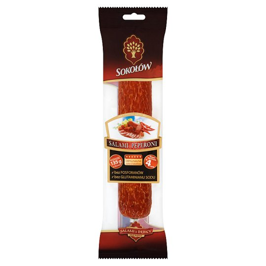 Sokołów Pepperoni Salami 250 g